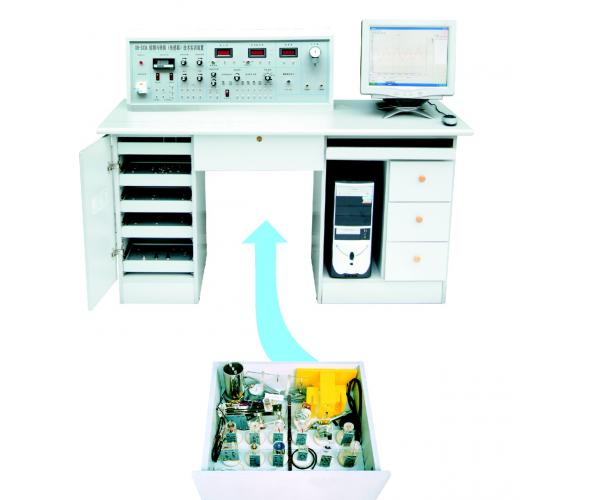 检测与转换(传感器)技术实训装置(17种传感器)